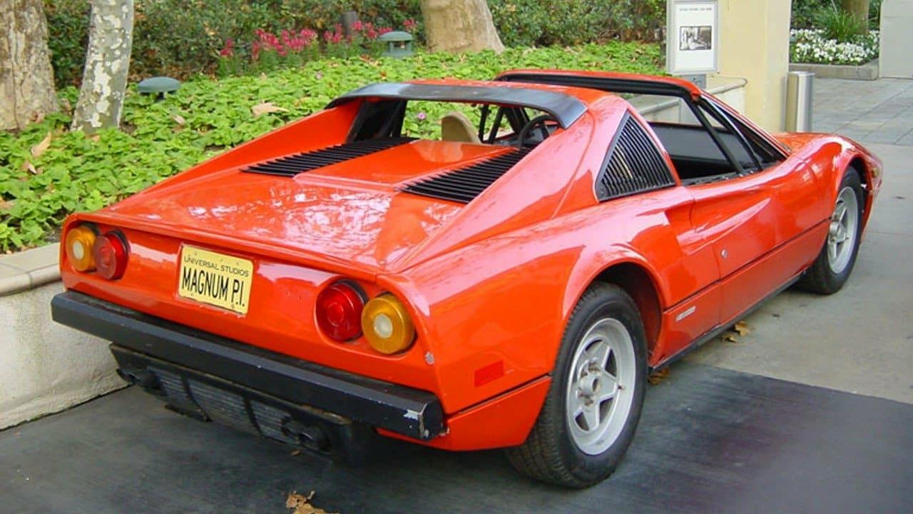 Ferrari 308 Magnum P I Gaudium A Million Steps
